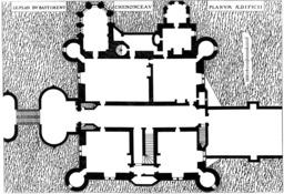 Plan de Chenonceau. Source : http://data.abuledu.org/URI/50e86155-plan-de-chenonceau