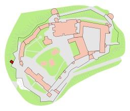 Plan de la grotte du dragon du Wawel en Pologne. Source : http://data.abuledu.org/URI/55104520-plan-de-la-grotte-du-dragon-du-wawel-en-pologne