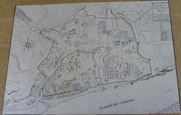 Plan de La Réole en 1757. Source : http://data.abuledu.org/URI/57214991-plan-de-la-reole-en-1757