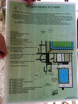 Plan de la villa gallo-romaine de Loupiac-33. Source : http://data.abuledu.org/URI/599ab0d8-plan-de-la-villa-gallo-romaine-de-loupiac-33