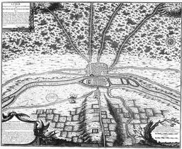 Plan de Lutèce en 508. Source : http://data.abuledu.org/URI/50734303-plan-de-lutece-en-508
