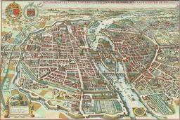 Plan de Paris. Source : http://data.abuledu.org/URI/51bae981-plan-de-paris-