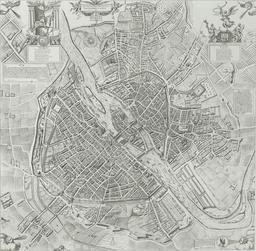 Plan de Paris en 1609. Source : http://data.abuledu.org/URI/51422812-plan-de-paris-en-1609