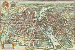 Plan de Paris en 1615. Source : http://data.abuledu.org/URI/50acd5ac-plan-de-paris-en-1615