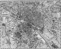 Plan de Paris en 1760. Source : http://data.abuledu.org/URI/5142202b-plan-de-paris-en-1760
