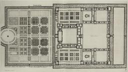 Plan du château de Charleval. Source : http://data.abuledu.org/URI/50e85b56-plan-du-chateau-de-charleval