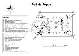Plan du Fort de Roppe à Belfort. Source : http://data.abuledu.org/URI/538b18ec-plan-du-fort-de-roppe-a-belfort