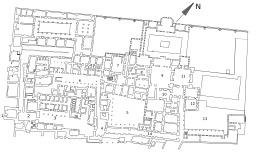 Plan du harem de Topkapi. Source : http://data.abuledu.org/URI/51139858-plan-du-harem-de-topkapi