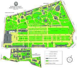 Plan du Jardin des plantes de Paris. Source : http://data.abuledu.org/URI/588e0ef1-plan-du-jardin-des-plantes-de-paris