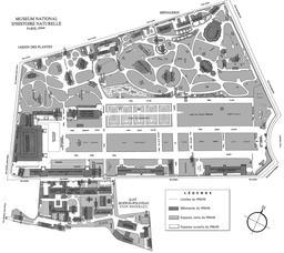 Plan du Jardin des Plantes et du Muséum. Source : http://data.abuledu.org/URI/5103e0ad-plan-du-jardin-des-plantes-et-du-museum