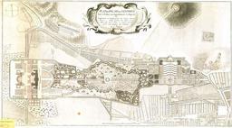 Plan du palais de Sanssouci à Potsdam. Source : http://data.abuledu.org/URI/573d29e6-plan-du-palais-de-sanssouci-a-potsdam