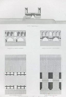 Plan du pont d'Allahverdi Khan en 1840. Source : http://data.abuledu.org/URI/5652134e-plan-du-pont-d-allahverdi-khan-en-1840