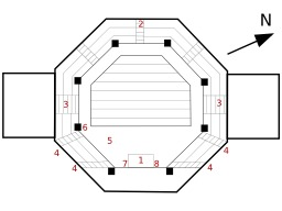 Plan octogonal. Source : http://data.abuledu.org/URI/517fea6a-plan-octogonal