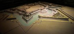 Plan-relief du Château Trompette à Bordeaux. Source : http://data.abuledu.org/URI/55475f22-plan-relief-du-chateau-trompette-a-bordeaux