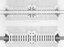 Plans du pont de Khaju en 1840. Source : http://data.abuledu.org/URI/56520fc6-plans-du-pont-de-khaju-en-1840