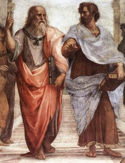 Platon et Aristote. Source : http://data.abuledu.org/URI/5061ccf5-platon-et-aristote