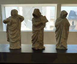 Pleurants néogothiques au musée des beaux-arts de Dijon. Source : http://data.abuledu.org/URI/59d6a249-pleurants-neogothiques-au-musee-des-beaux-arts-de-dijon