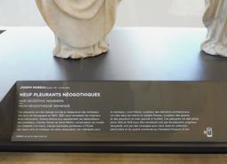 Pleurants néogothiques au musée des beaux-arts de Dijon. Source : http://data.abuledu.org/URI/59d6a2e4-pleurants-neogothiques-au-musee-des-beaux-arts-de-dijon