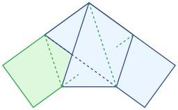 Pliage de pentagone. Source : http://data.abuledu.org/URI/517f8dc4-pliage-de-pentagone