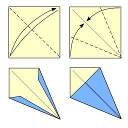 Pliage du cerf-volant en origami. Source : http://data.abuledu.org/URI/52f28149-pliage-du-cerf-volant-en-origami