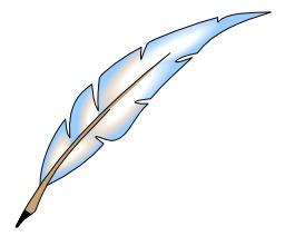 Plume d'écrivain. Source : http://data.abuledu.org/URI/50c48ce1-plume-d-ecrivain