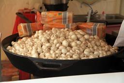 Poêlée de champignons de Paris. Source : http://data.abuledu.org/URI/532d60a4-poelee-de-champignons-de-paris