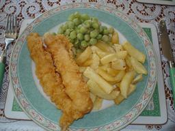 Poisson frites en Angleterre. Source : http://data.abuledu.org/URI/53727a09-poisson-frites-en-angleterre