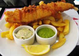 Poisson frites en Angleterre. Source : http://data.abuledu.org/URI/53727ad0-poisson-frites-en-angleterre
