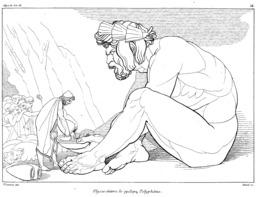 Polyphème de l'Odyssée. Source : http://data.abuledu.org/URI/50215589-polypheme-de-l-odyssee