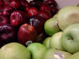 Pommes rouges et vertes. Source : http://data.abuledu.org/URI/5342777b-pommes-rouges-et-vertes