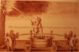 Pompe à incendie du XVIIème siècle. Source : http://data.abuledu.org/URI/52fd5362-pompe-a-incendie-du-xviieme-siecle