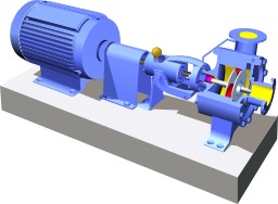 Pompe centrifuge. Source : http://data.abuledu.org/URI/50cb3dc4-pompe-centrifuge