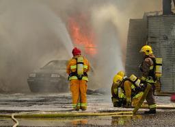 Pompiers à Ste-Anne-de-Beaupré. Source : http://data.abuledu.org/URI/5356ad3b-pompiers-a-ste-anne-de-beaupre
