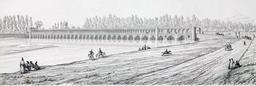 Pont d'Allahverdi Khan en 1840. Source : http://data.abuledu.org/URI/565213a3-pont-d-allahverdi-khan-en-1840