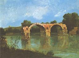 Pont d'Ambroix. Source : http://data.abuledu.org/URI/47f4bd67-pont-d-ambroix