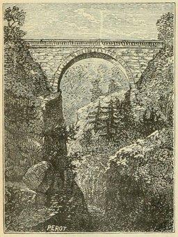 Pont de Saint-Sauveur dans les Pyrénées. Source : http://data.abuledu.org/URI/524dd1d9-pont-de-saint-sauveur-dans-les-pyrenees