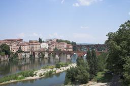 Pont Vieux d'Albi. Source : http://data.abuledu.org/URI/596d6924-pont-vieux-d-albi