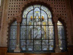 Portail de Charlemagne à la gare de Metz. Source : http://data.abuledu.org/URI/54a85fda-portail-de-charlemagne-a-la-gare-de-metz