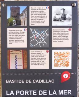 Porte de la mer à Cadillac-33. Source : http://data.abuledu.org/URI/599a9107-porte-de-la-mer-a-cadillac-33