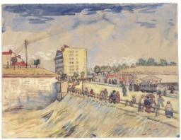 Porte des remparts de Paris en 1887. Source : http://data.abuledu.org/URI/5515c52c-porte-des-remparts-de-paris-en-1887