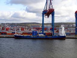 Portique de chargement en Suède. Source : http://data.abuledu.org/URI/56c8955a-portique-de-chargement-en-suede