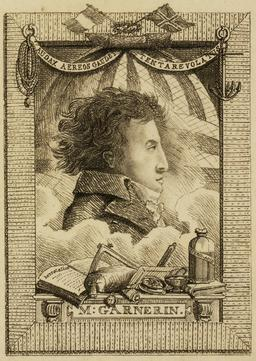 Portrait d'André-Jacques Garnerin en 1802. Source : http://data.abuledu.org/URI/5399c0f1-portrait-d-andre-jacques-garnerin-en-1802