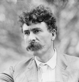 Portrait d'Ernest Thompson Seton. Source : http://data.abuledu.org/URI/587fab3d-portrait-d-ernest-thompson-seton