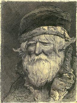 Portrait d'un paysan russe en 1878. Source : http://data.abuledu.org/URI/54b979b2-portrait-d-un-paysan-russe-en-1878