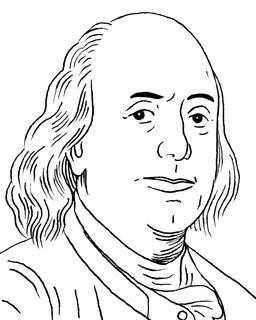 Portrait de Benjamin Franklin en 1785. Source : http://data.abuledu.org/URI/559f68b7-portrait-de-benjamin-franklin-en-1785