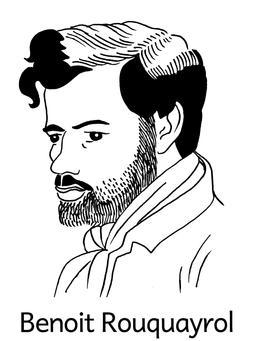 Portrait de Benoît Rouquayrol. Source : http://data.abuledu.org/URI/564e0531-portrait-de-benoit-rouquayrol