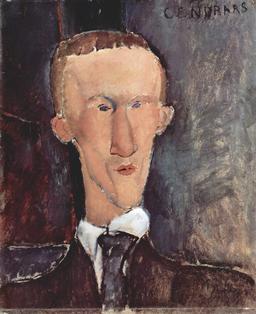 Portrait de Blaise Cendrars. Source : http://data.abuledu.org/URI/5335ee51-portrait-de-blaise-cendrars