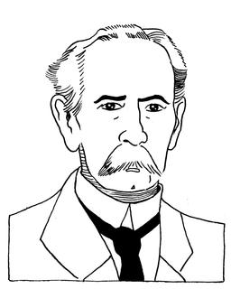 Portrait de Carl Benz en 1896. Source : http://data.abuledu.org/URI/55a0b2c5-portrait-de-carl-benz-en-1896