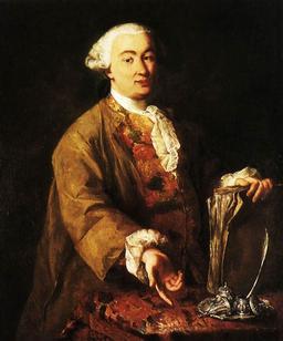Portrait de Carlo Goldoni à la plume d'oie. Source : http://data.abuledu.org/URI/519e7862-portrait-de-carlo-goldoni-a-la-plume-d-oie