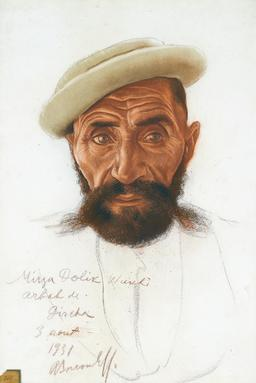 Portrait de chef afghan. Source : http://data.abuledu.org/URI/588511b0-portrait-de-chef-afghan